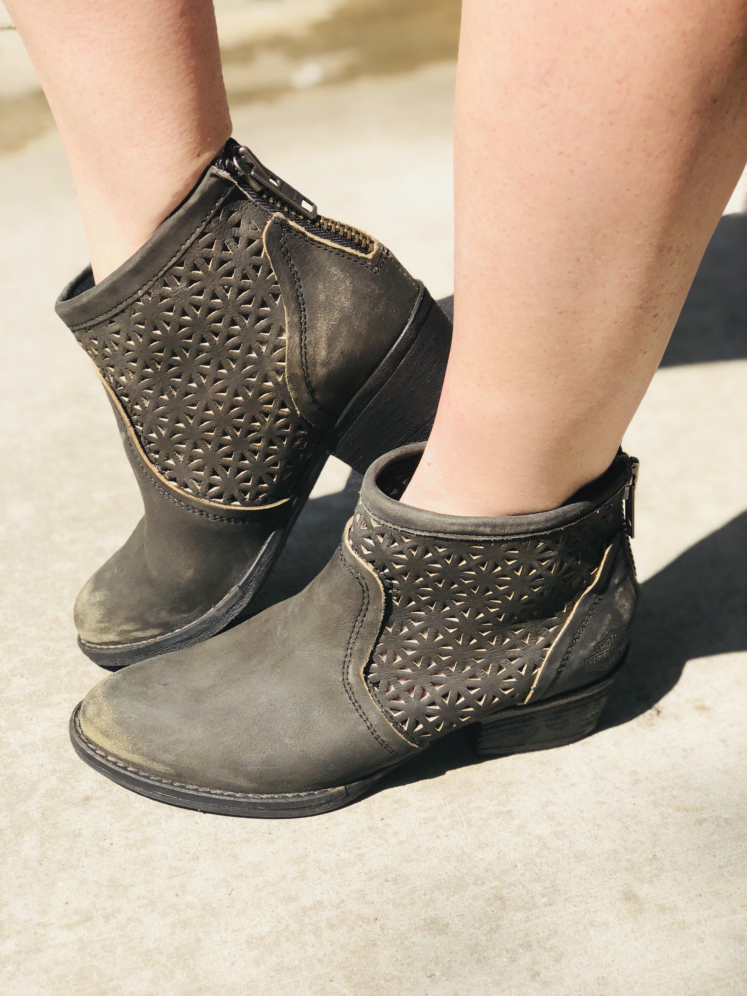 "Booties by Harley Davidson Footwear   ""The Liam"""