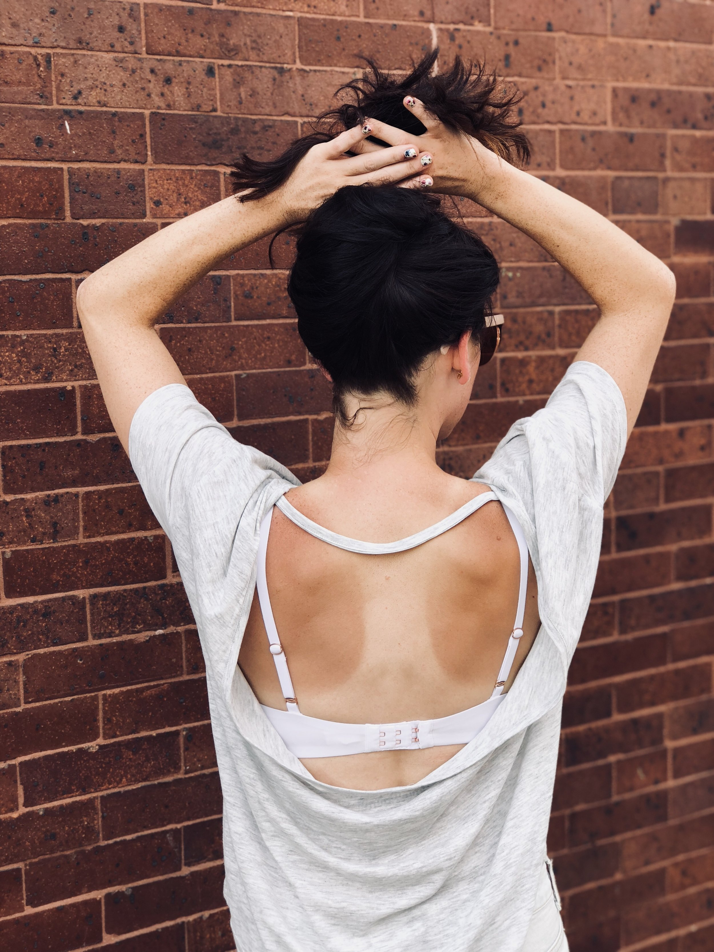 """Cocktail Club Backless Tee"""