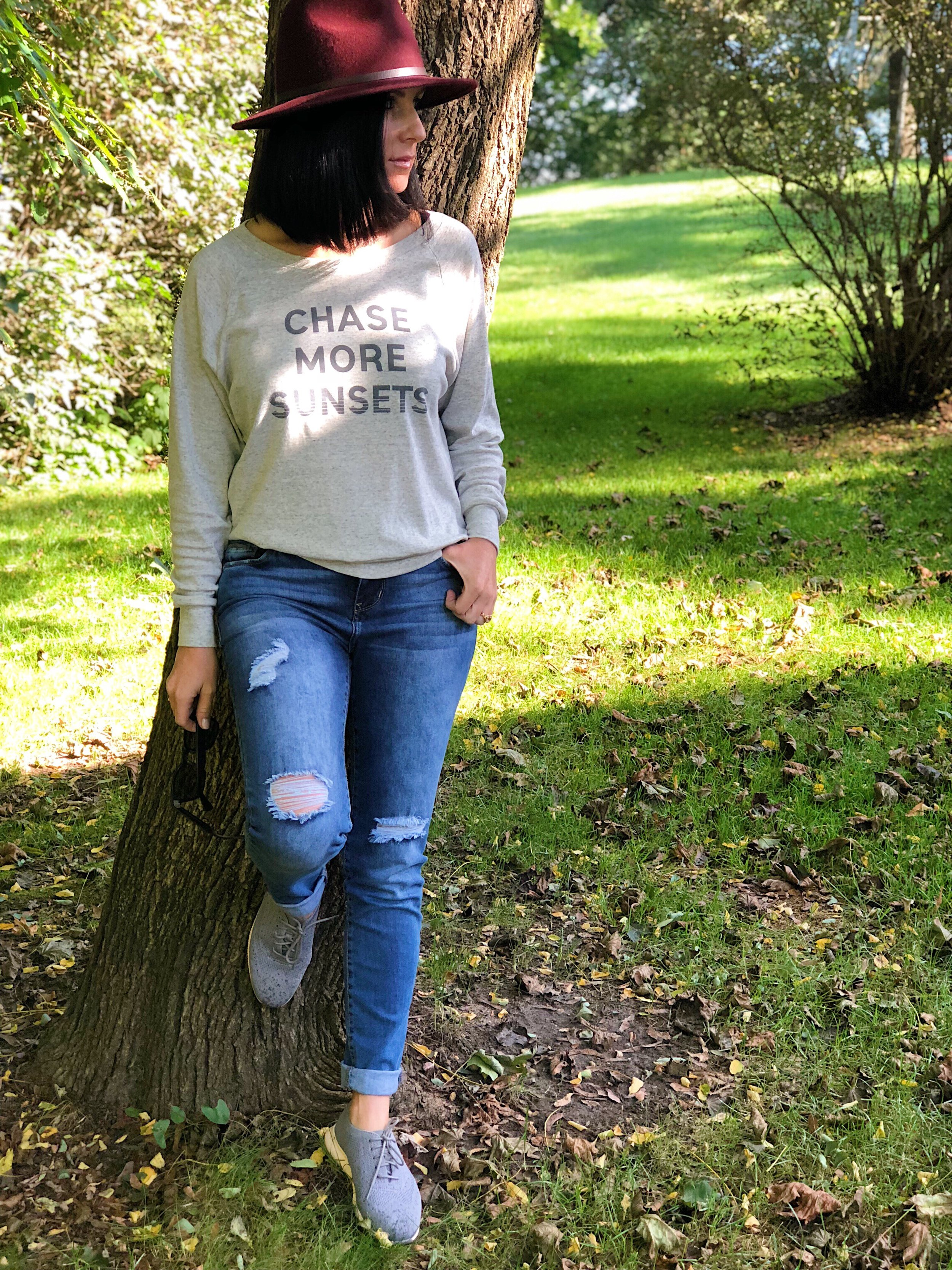 Cozy Graphic Knit by     Lake Effect Co.