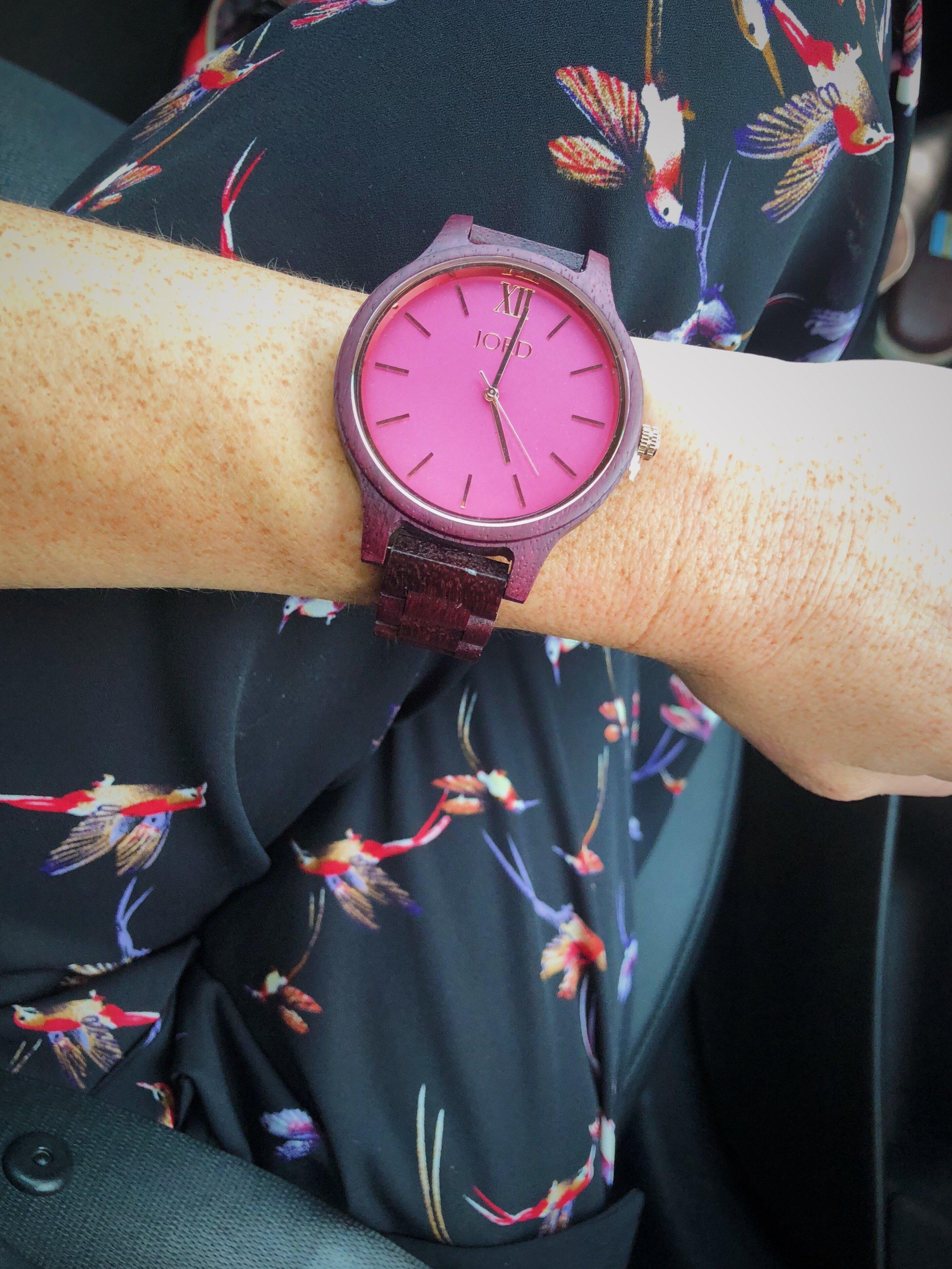 """Frankie Series- Purpleheart & Plum""     Watch"