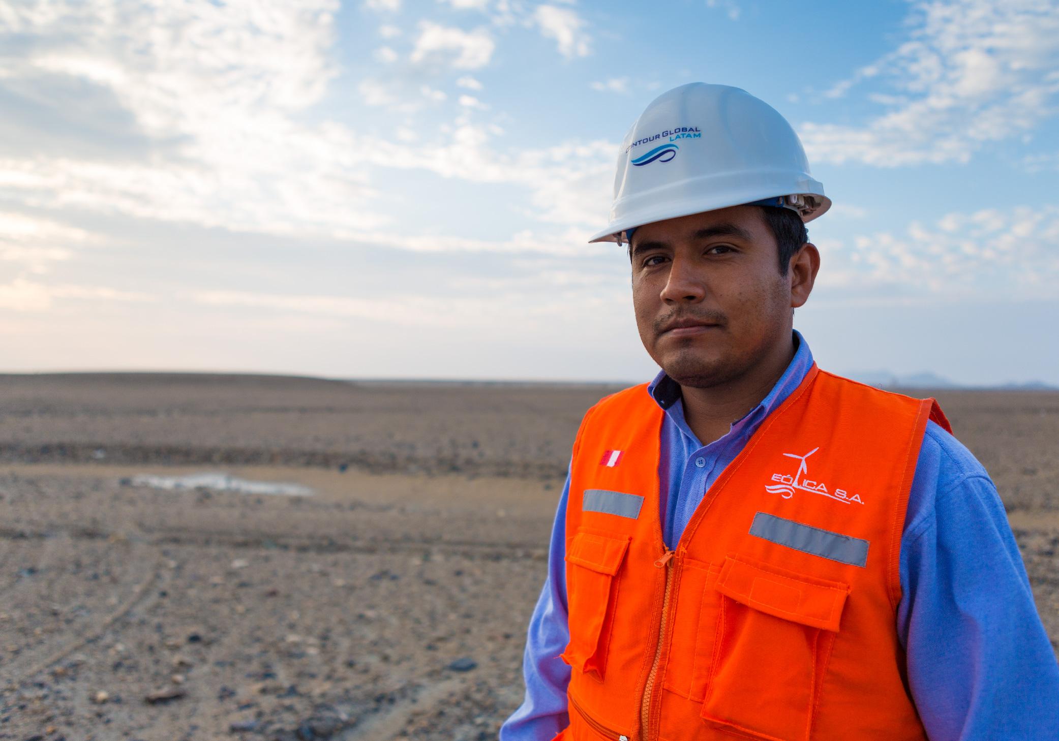 ContourGlobal employee, Pacasmayo, Peru