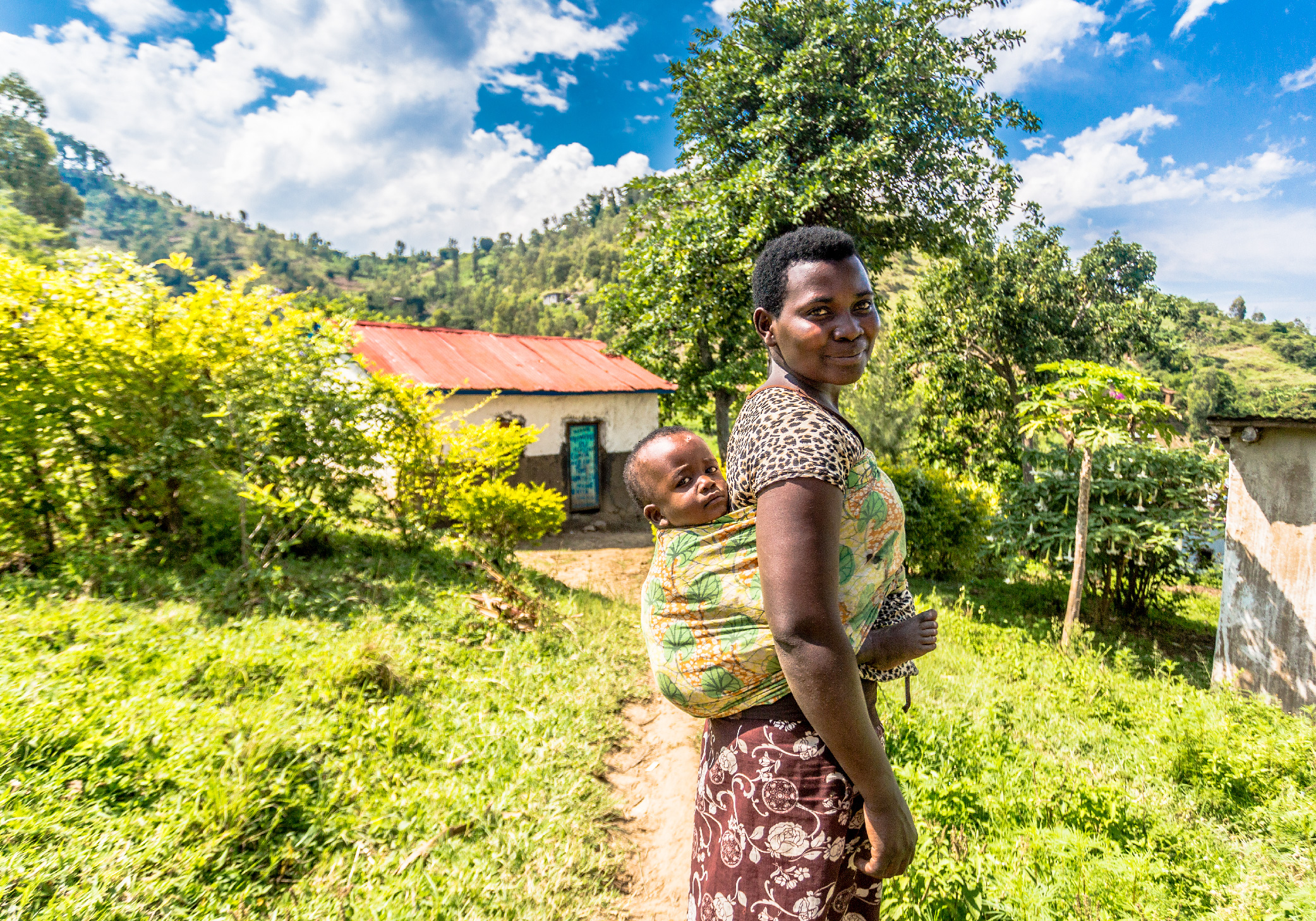 Mother and Child, Kibuye, Rwanda