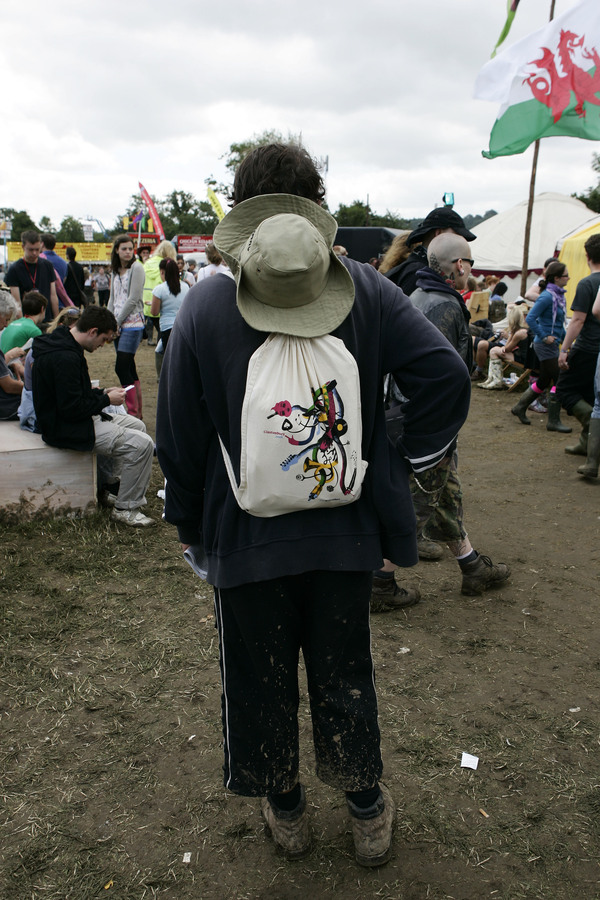 Guardian presence at Glastonbury