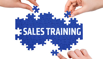 Sales training with hypnosis.