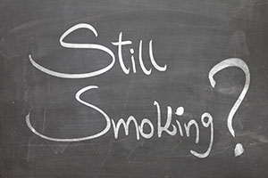 Still Smoking? sign. Consider using hypnosis to stop smoking. Call Christian Hypnosis Connection in Fort Myers, FL for your free screening.