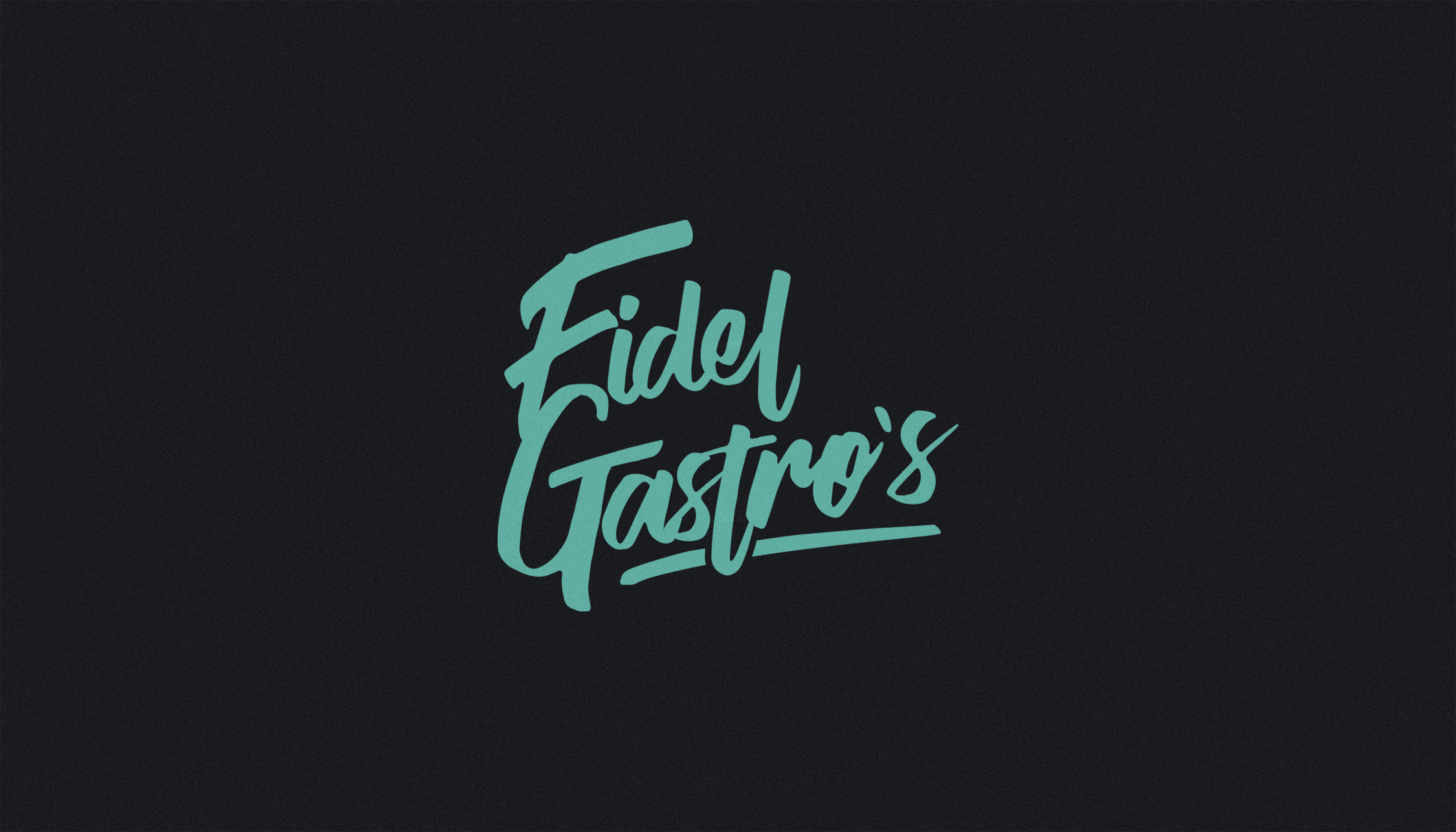 FIDEL GASTRO'S BRANDING