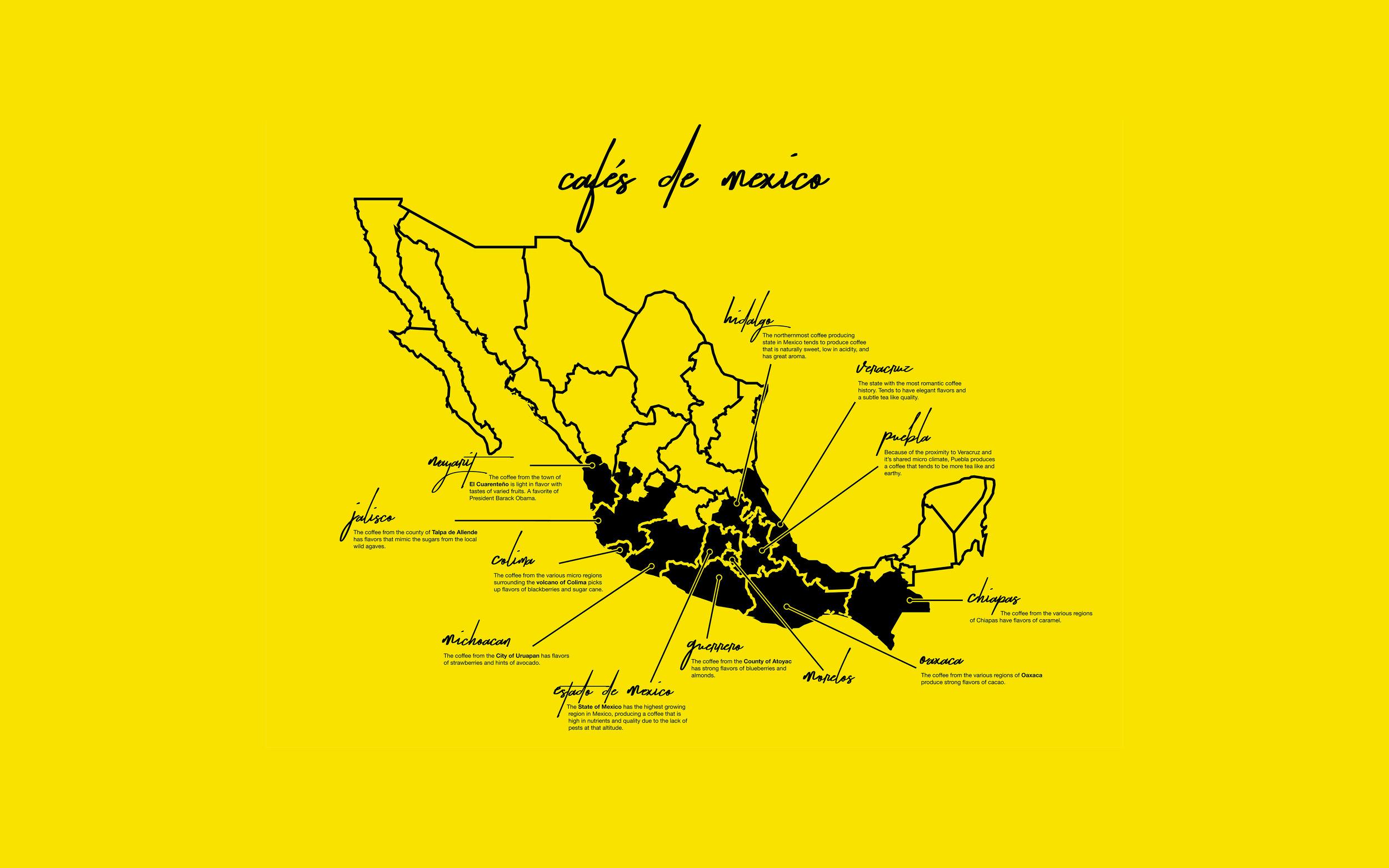 CAFÉS DE MEXICO