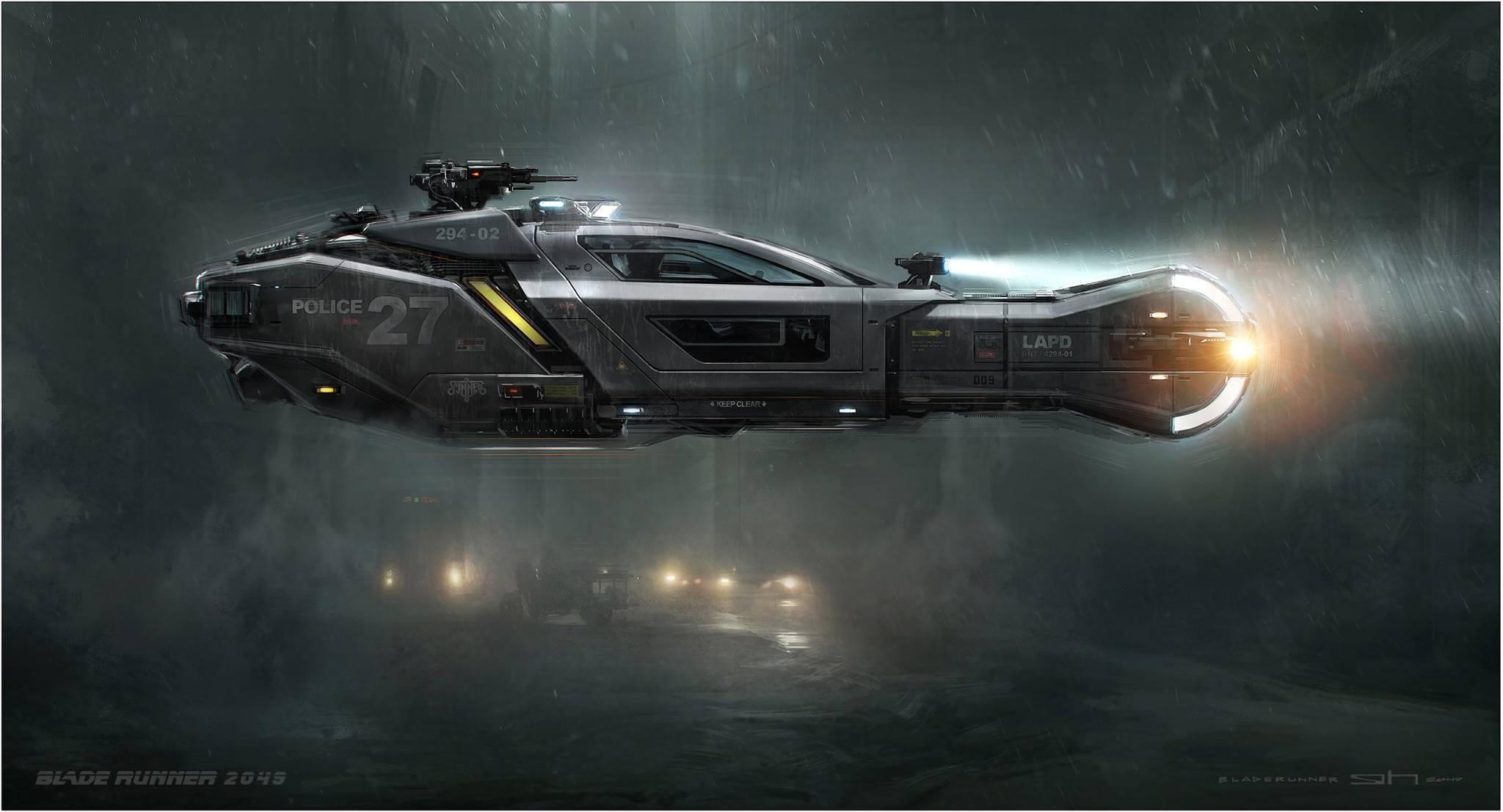 Blade Runner 2049 Conceptual Art
