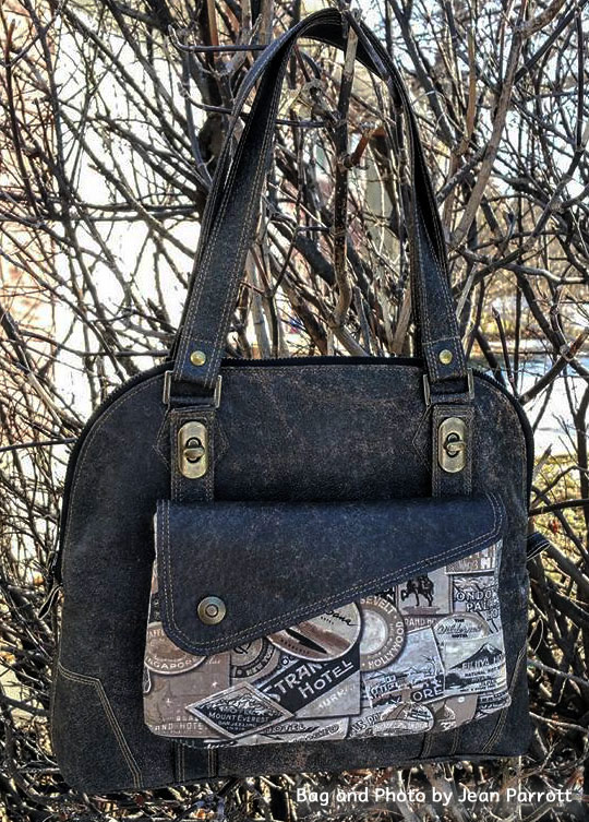 Bag and Photo by Jean Parrott