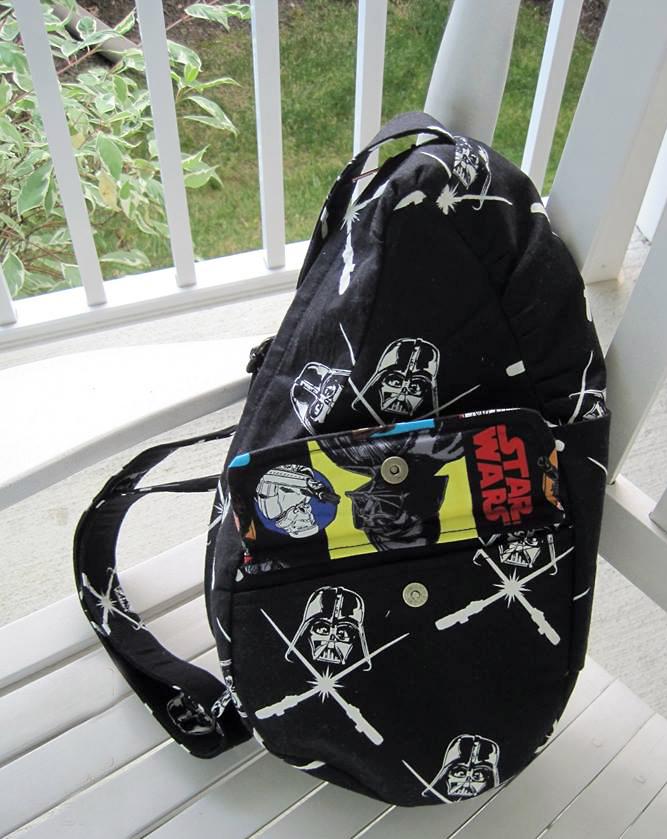 The Teardrop Sling Bag