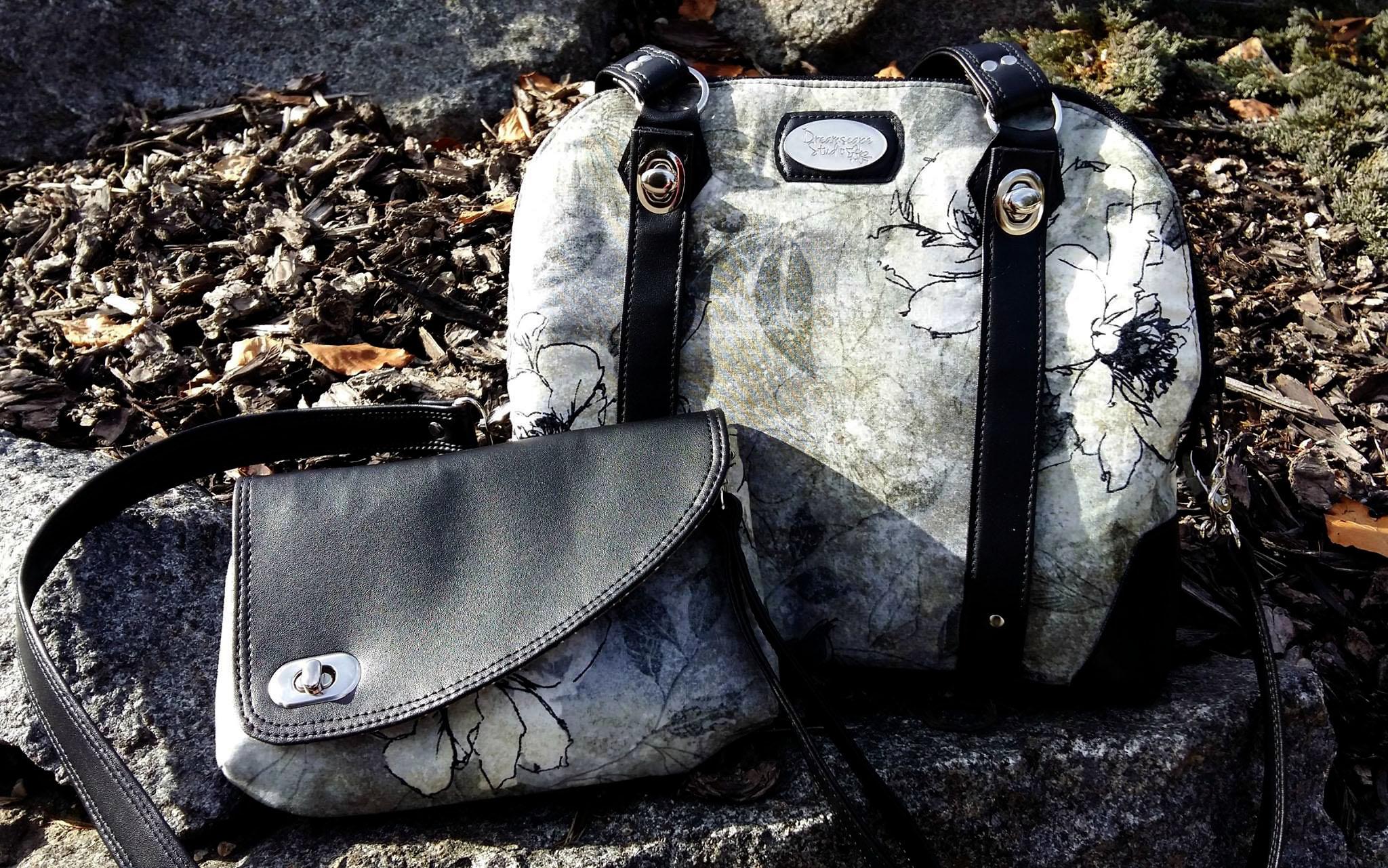 Koala handbag with detachable Clutch