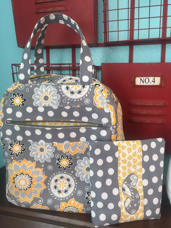 Dolores Lunch Tote & Sami Snack Pouch