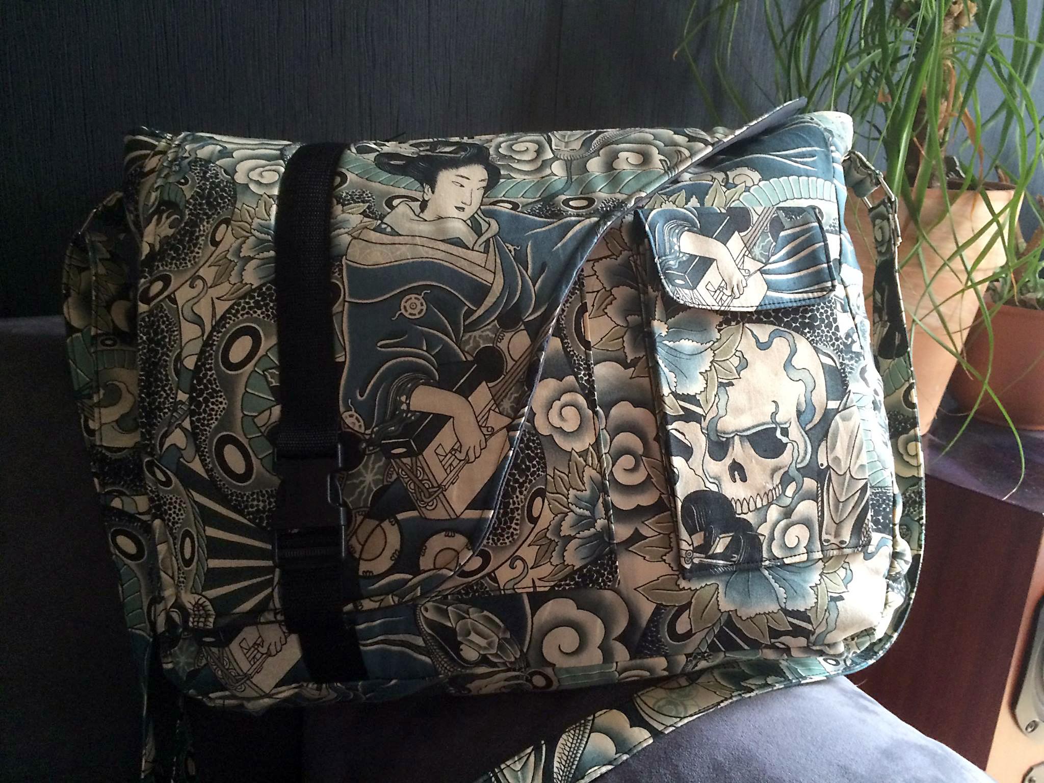 The Urban Messenger Bag