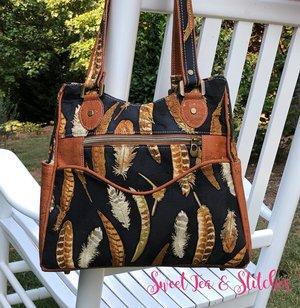 Instant Download Women/'s Pocket Shopper Bag PDF Sewing Pattern Riga