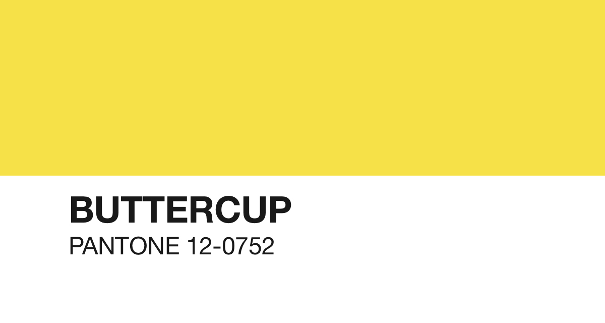 pantone - buttercup - southern new yorker