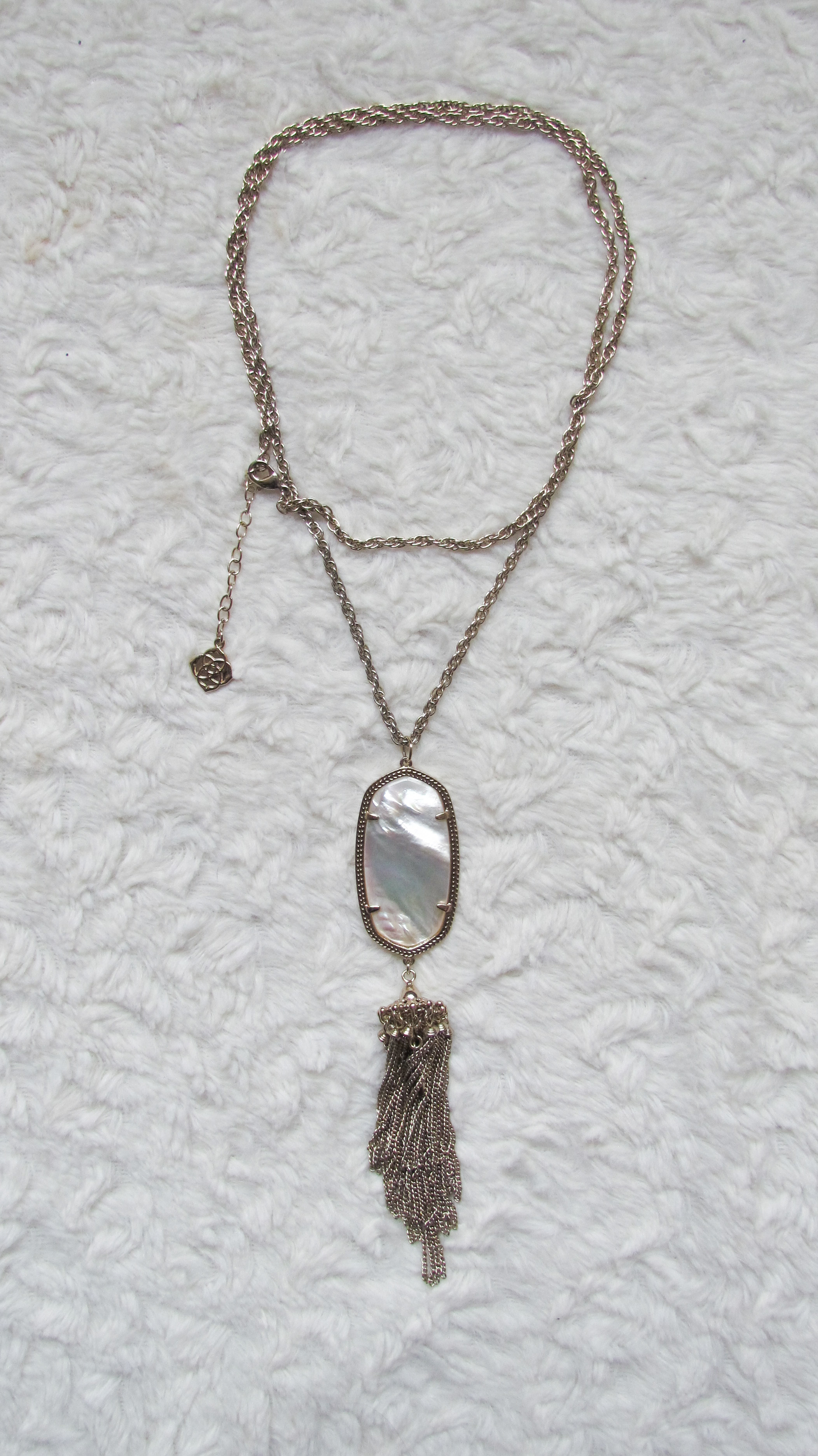 Kendra Scott Rayne Necklace in ivory pearl - April Rocksbox - Southern New Yorker