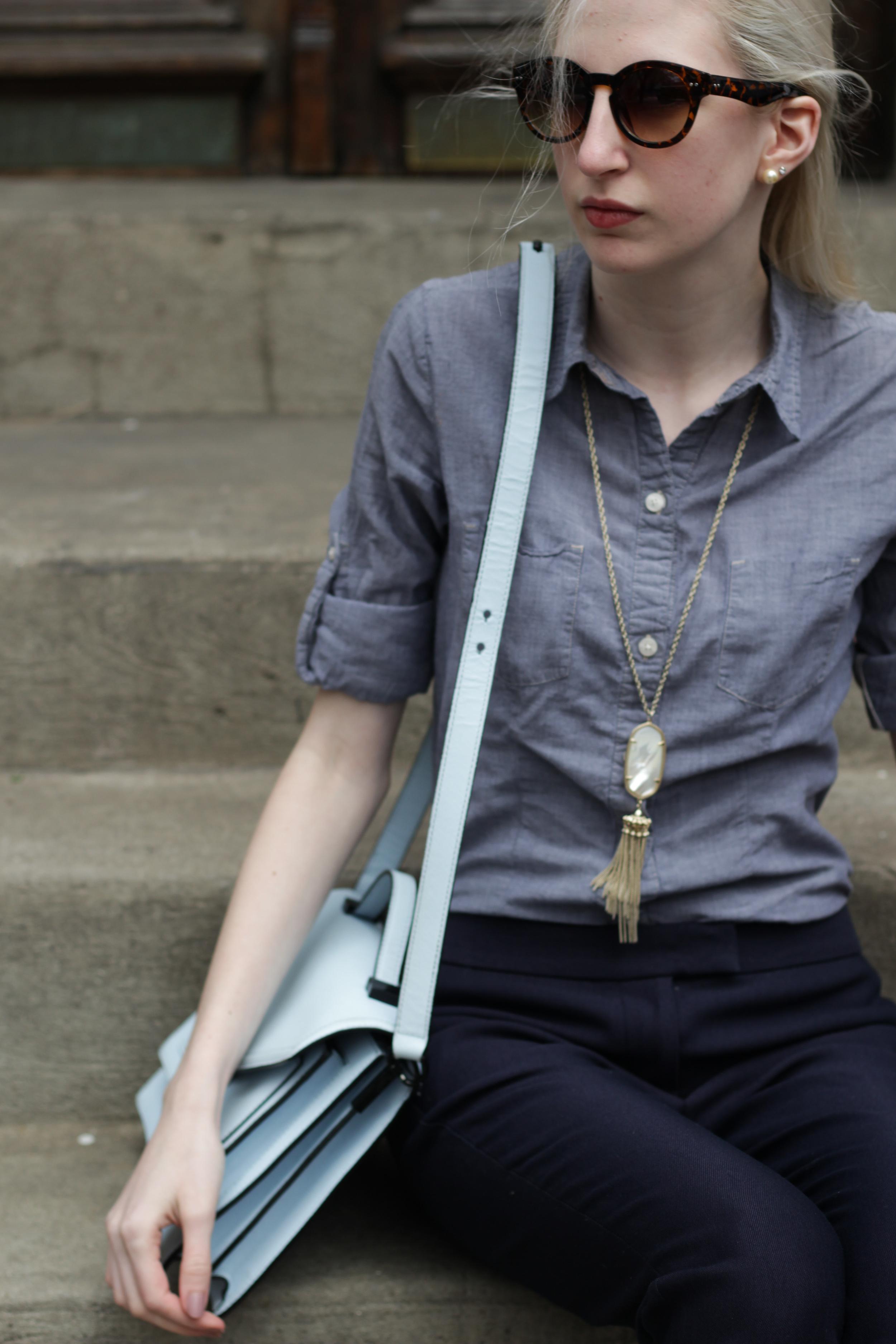 April Favorites - Rocksbox - Kendra Scott Rayne necklace