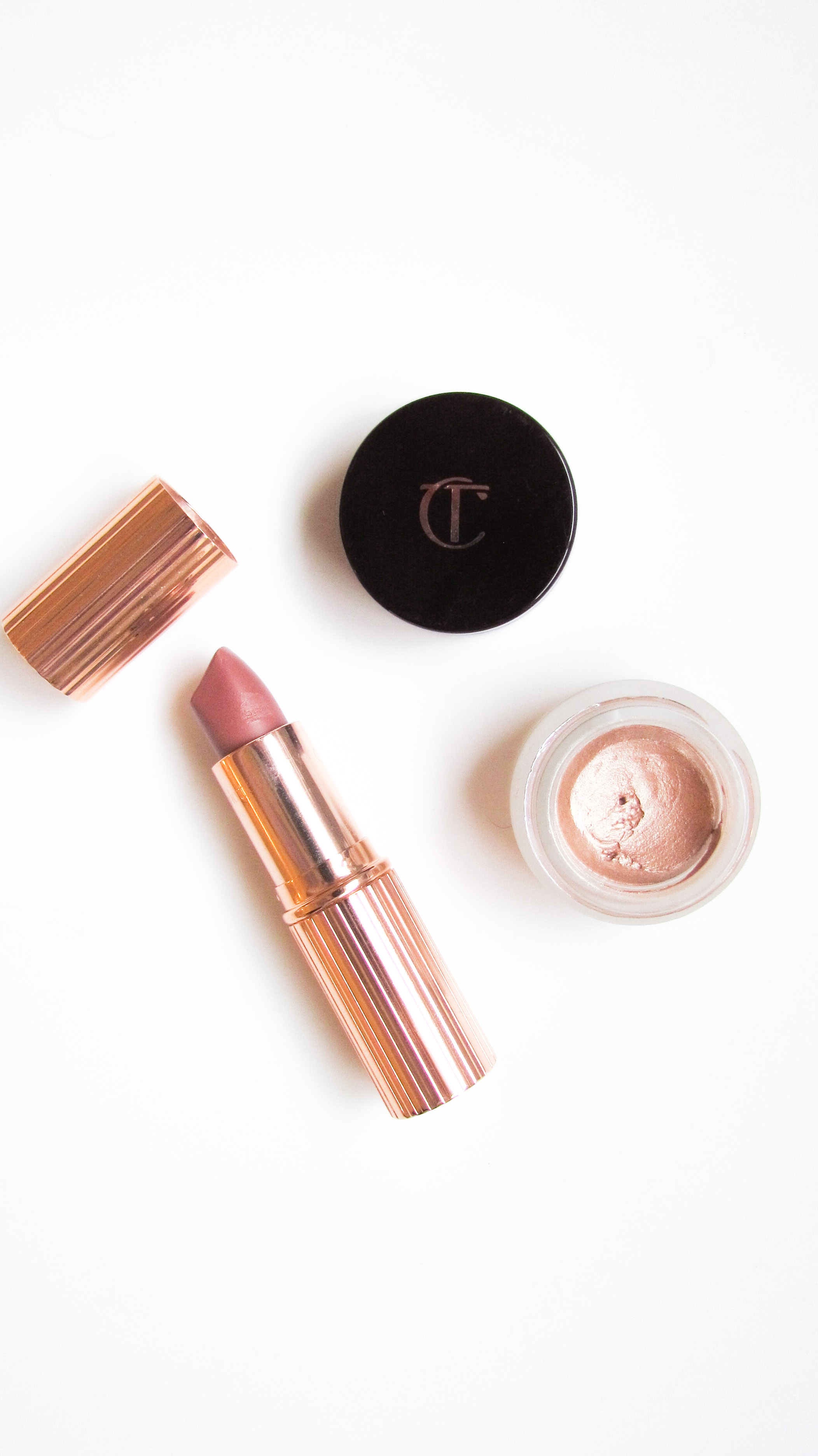 Charlotte Tilbury Matte Revolution Lipstick in Very Victoria and Eyes to Mesmerize Eye shadow in Jean - Southern New Yorker