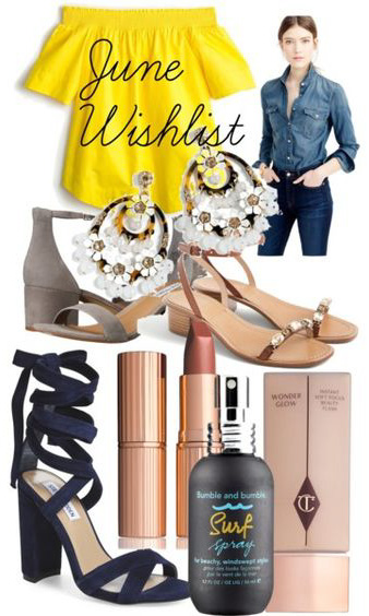 June Wishlist - Southern New Yorker
