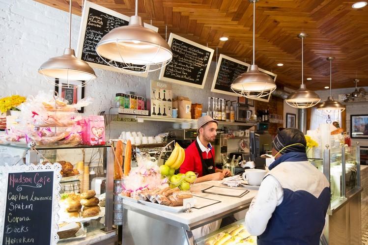 best coffee shops in manhattan - hudson cafe