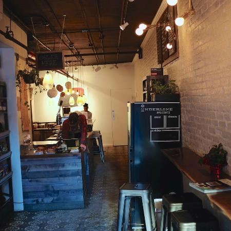 best coffee shops in manhattan - underline coffee