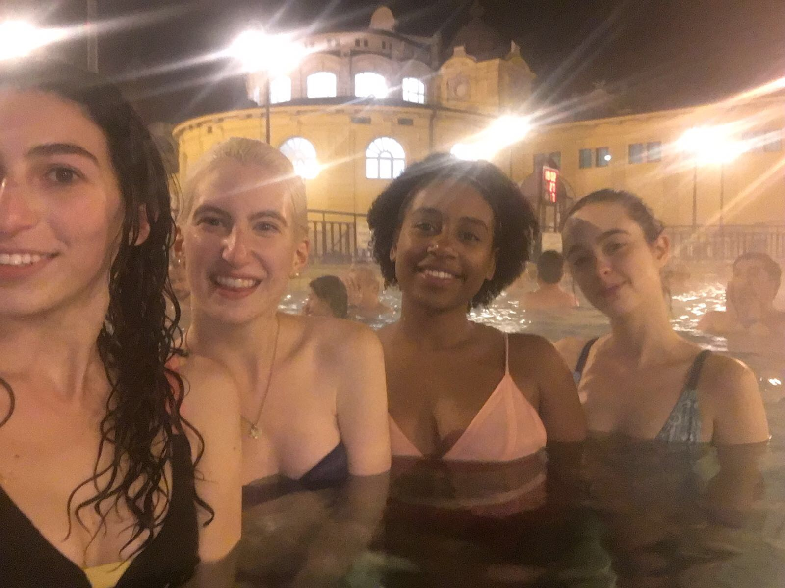 thermal baths budapest hungary
