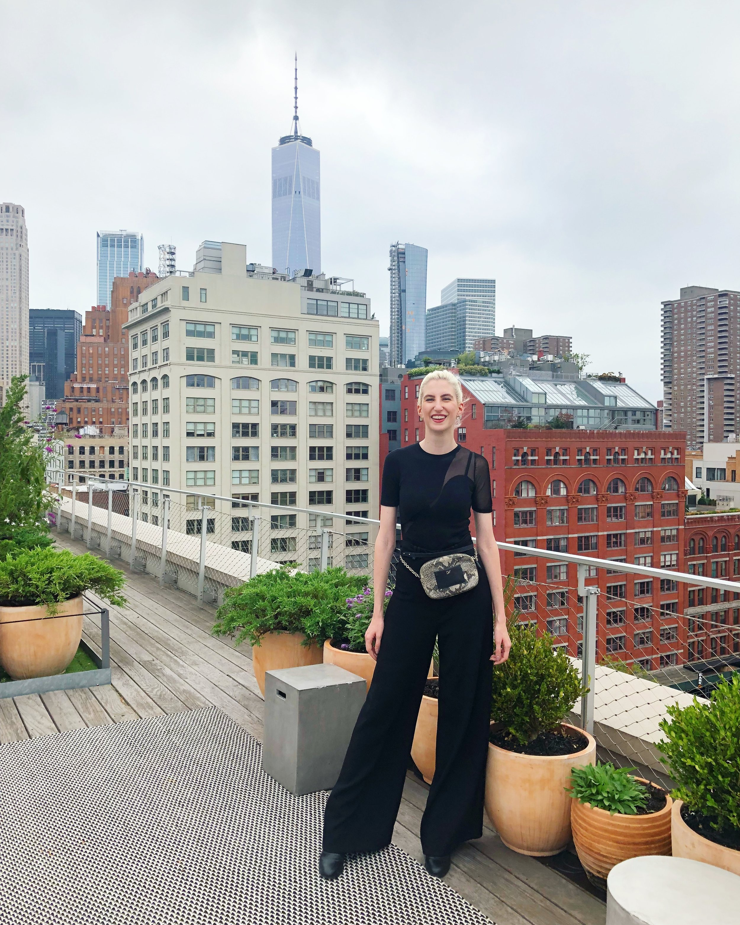 Spring Studios Rooftop Party after SS19 runway