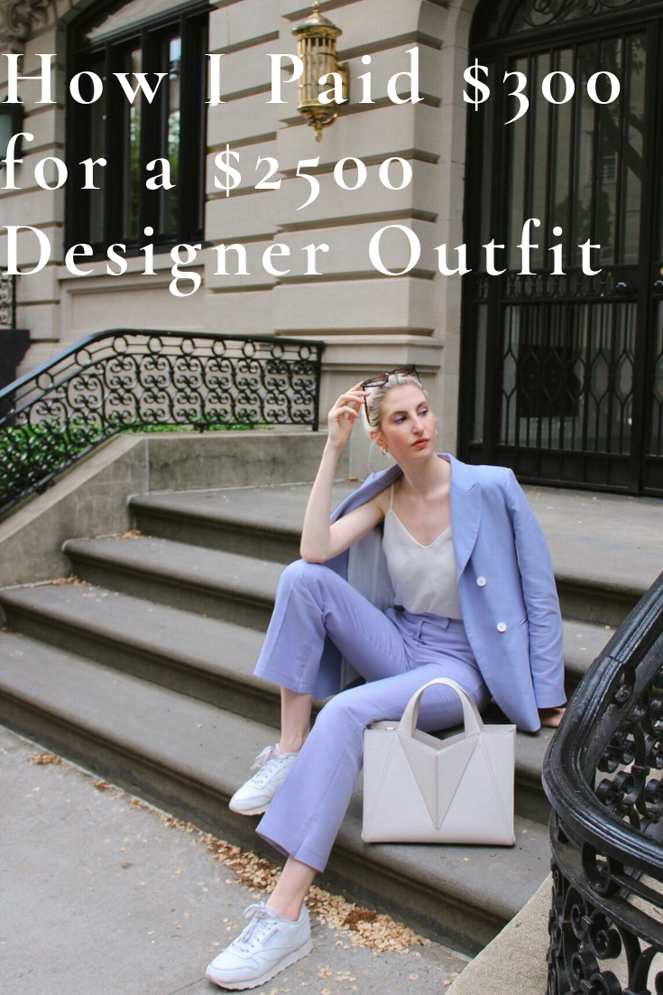 how i paid $300 for a $2500 outfit - dress designer on a budget