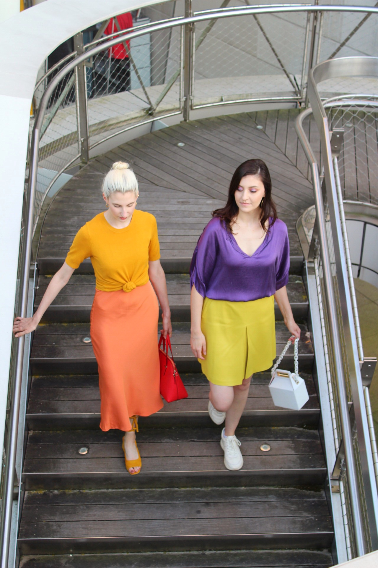 Her style: colorblocking with sophia kountakis, fashion interview with JustCallMeSophia by Audra Koch Southern New Yorker