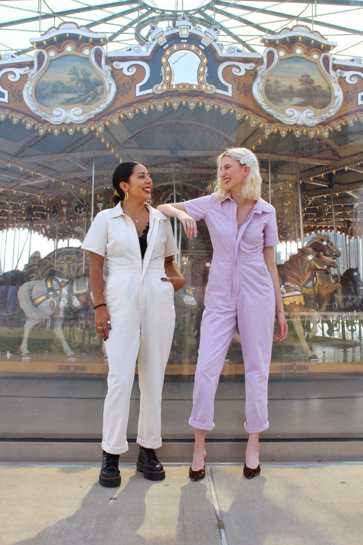 Her style: boiler suits with Lulu gamez, How to style a utility jumpsuit and fashion interview with lulu gamez by Audra Koch, Southern New Yorker