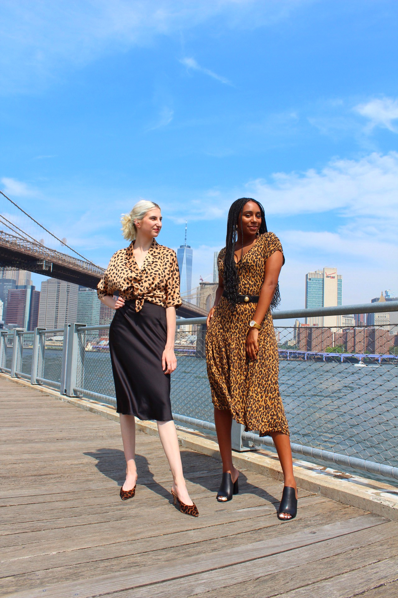 Her Style: Leopard Print with Kiana Brooks, how to style leopard print two ways, fashion interview with kiana brooks by Audra Koch, Southern New Yorker