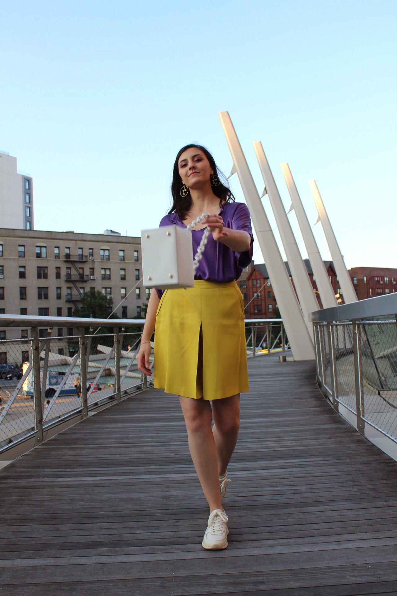 Her Style: Colorblocking with Sophia Koutakis