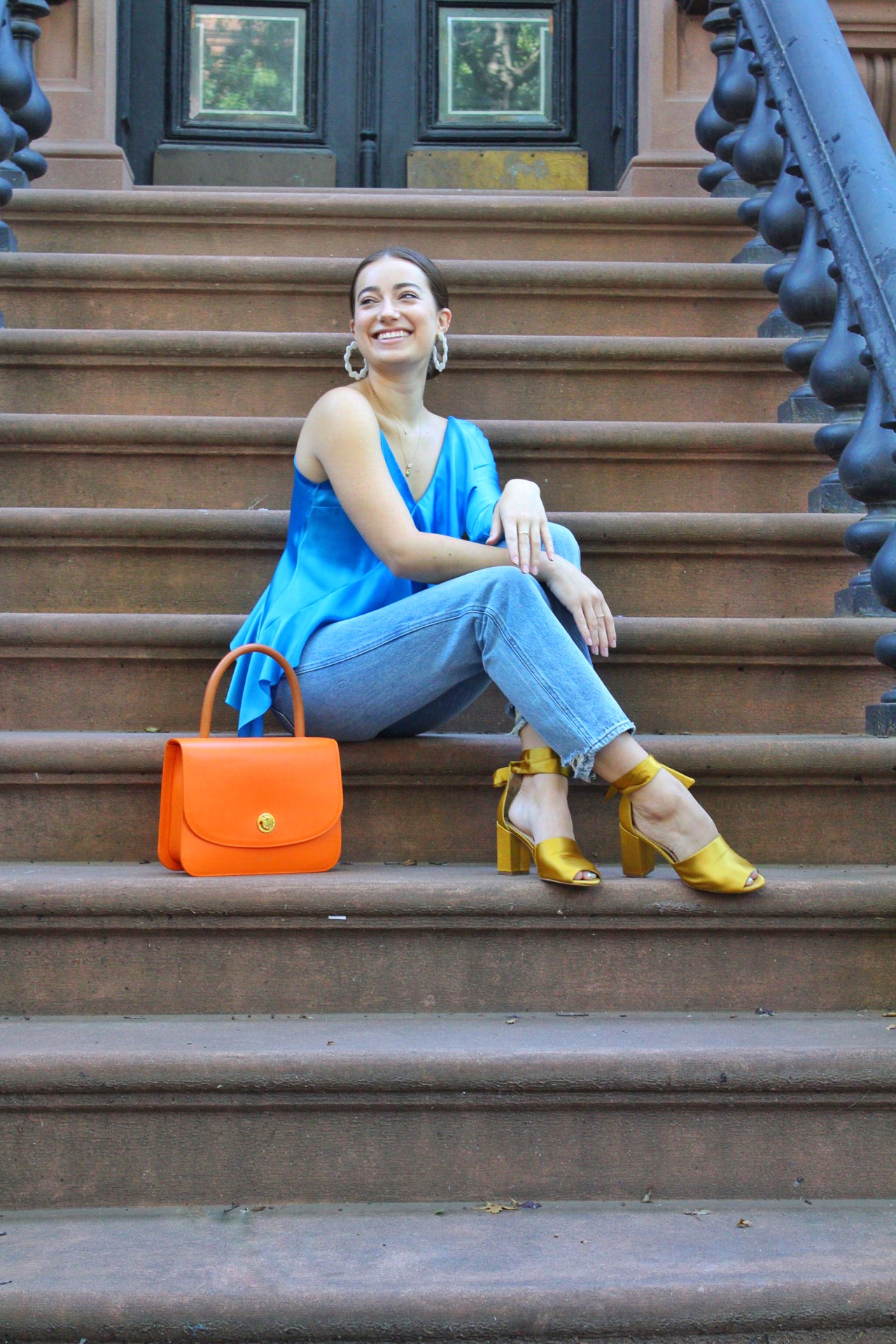 how to style asymmetry with Kayla Maryly Omsberg. Her Style on Southern New Yorker by Audra Koch. fashion, beauty, and life advice from ambitious and stylish women