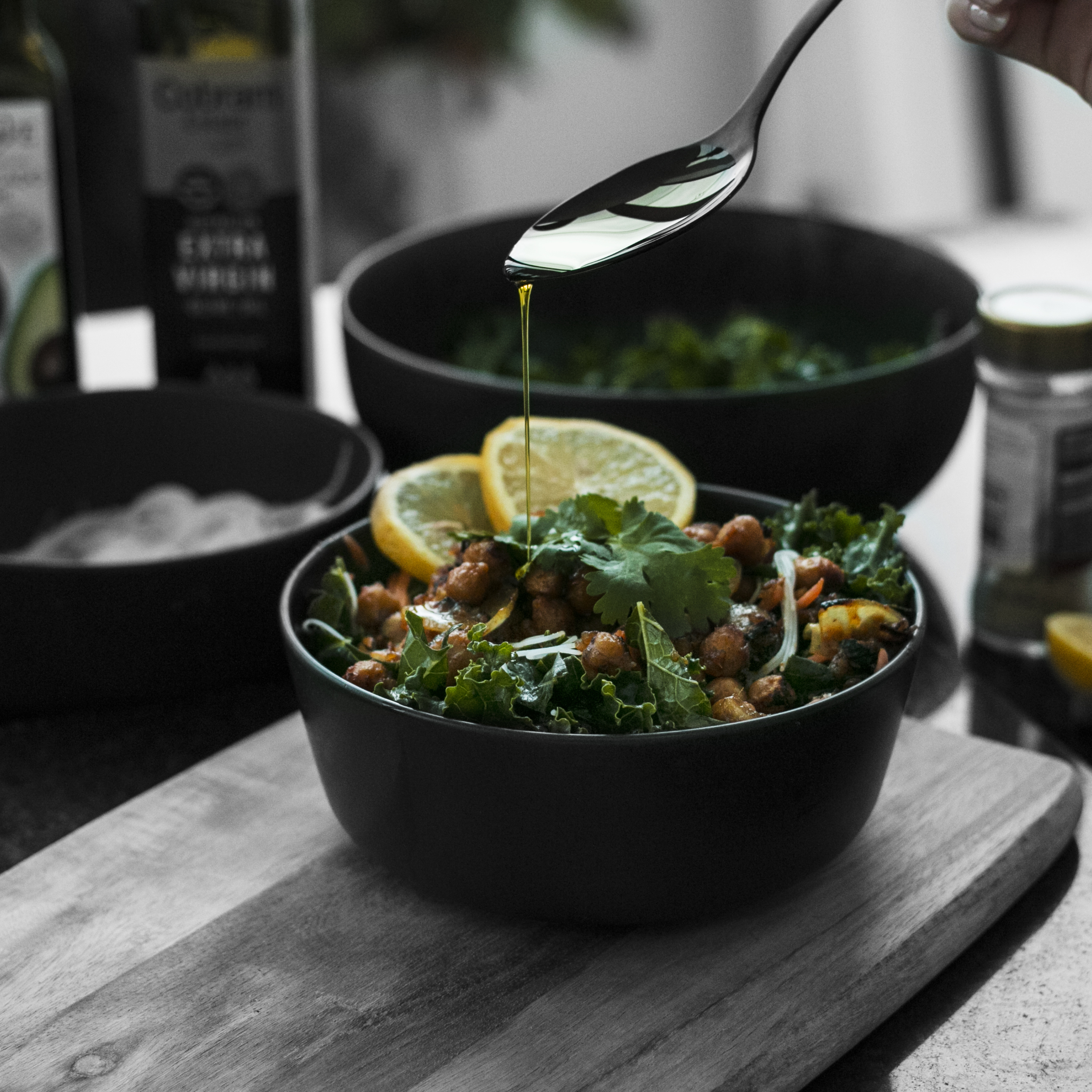 Chickpea Noodle Salad