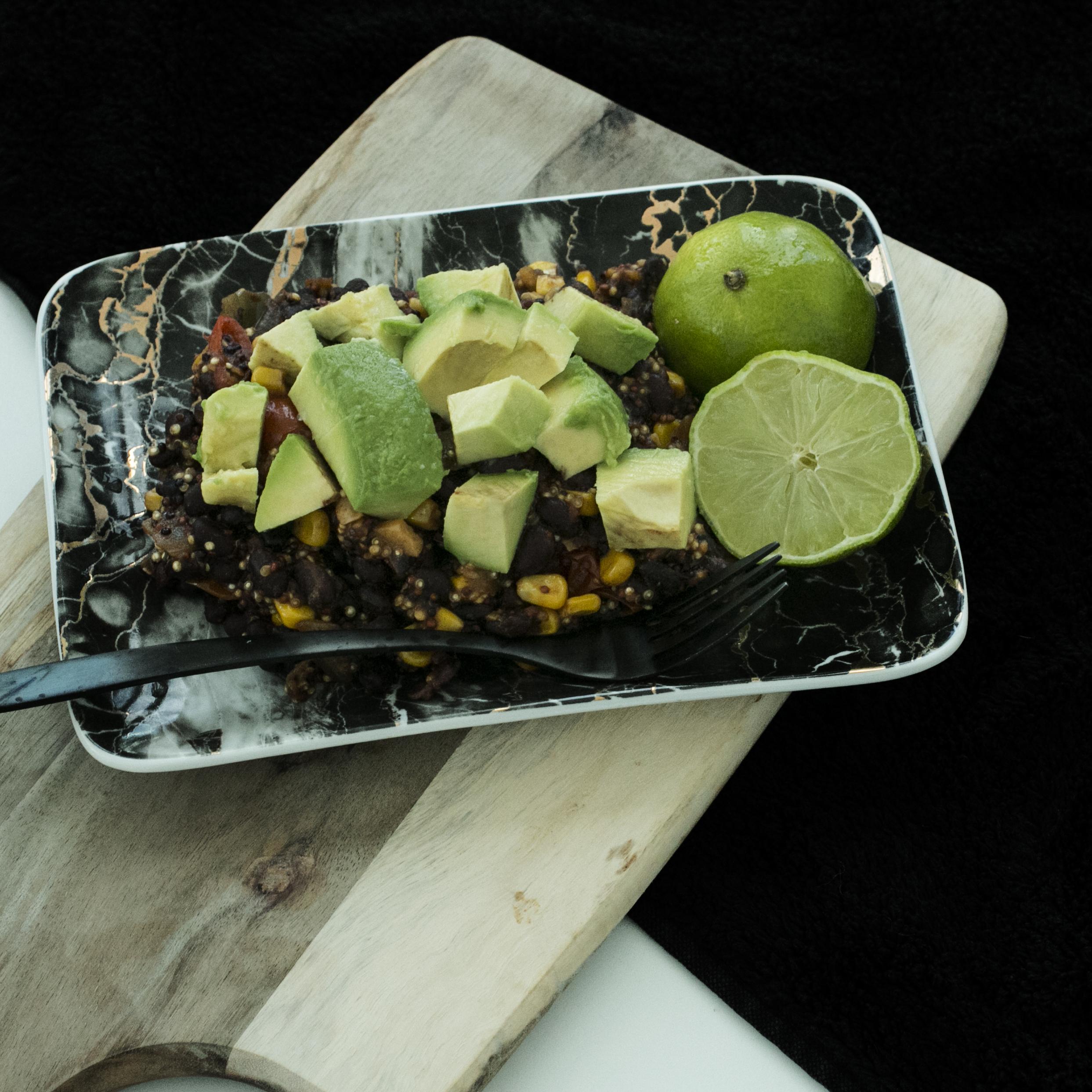 Spiced Quinoa & Lime