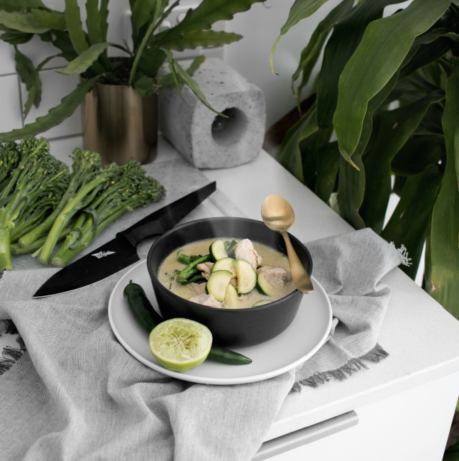 Power-Packed Green Curry (K) (GF) (DF)