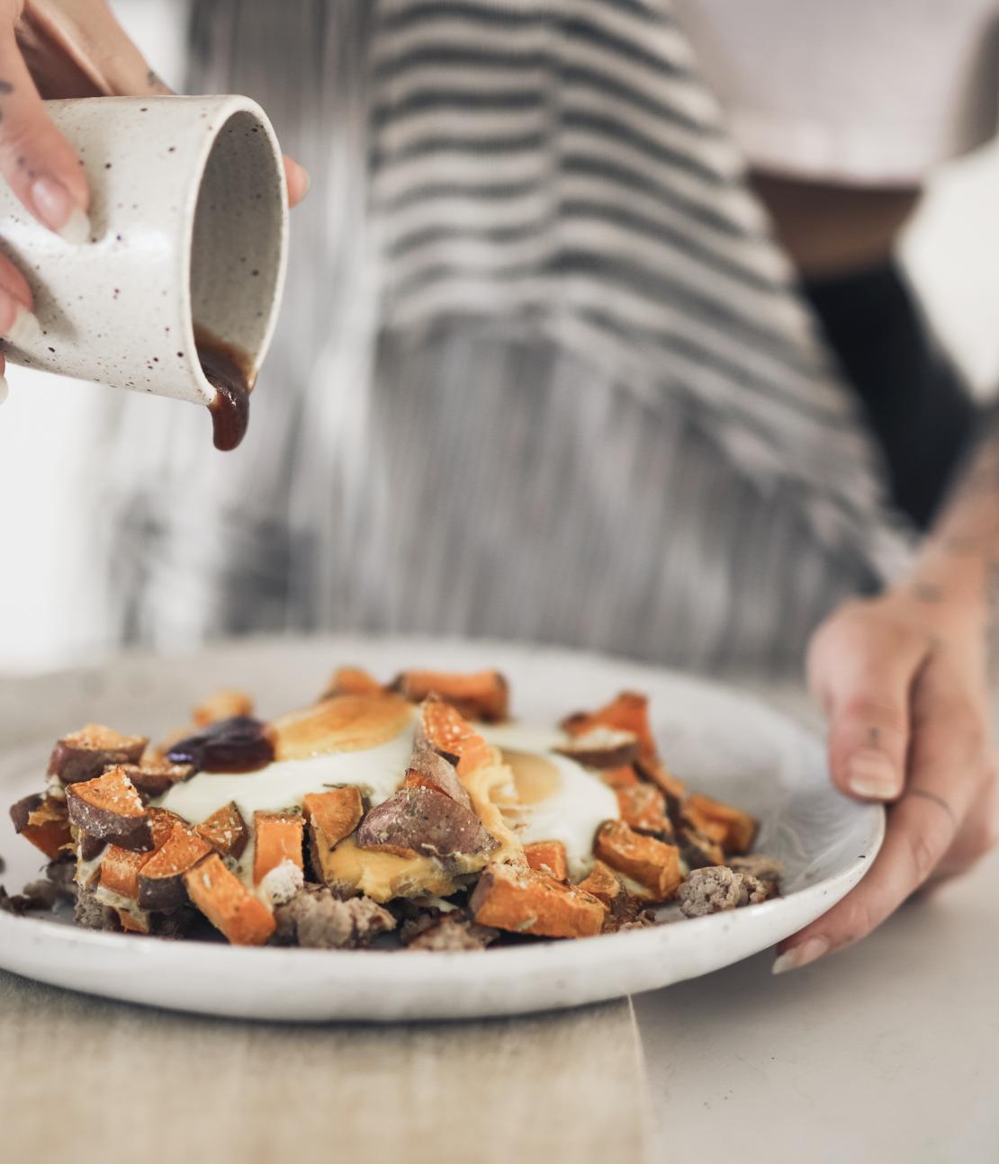 Turkey & Sweet Potato Hash