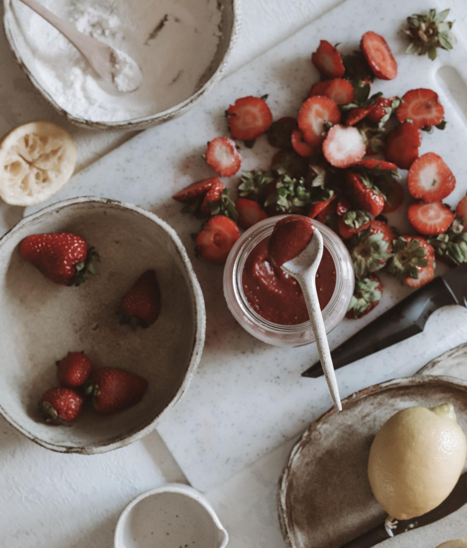 Home Made Strawberry Jam