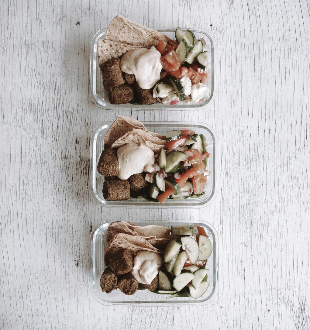 Falafel Meal Prep Packs