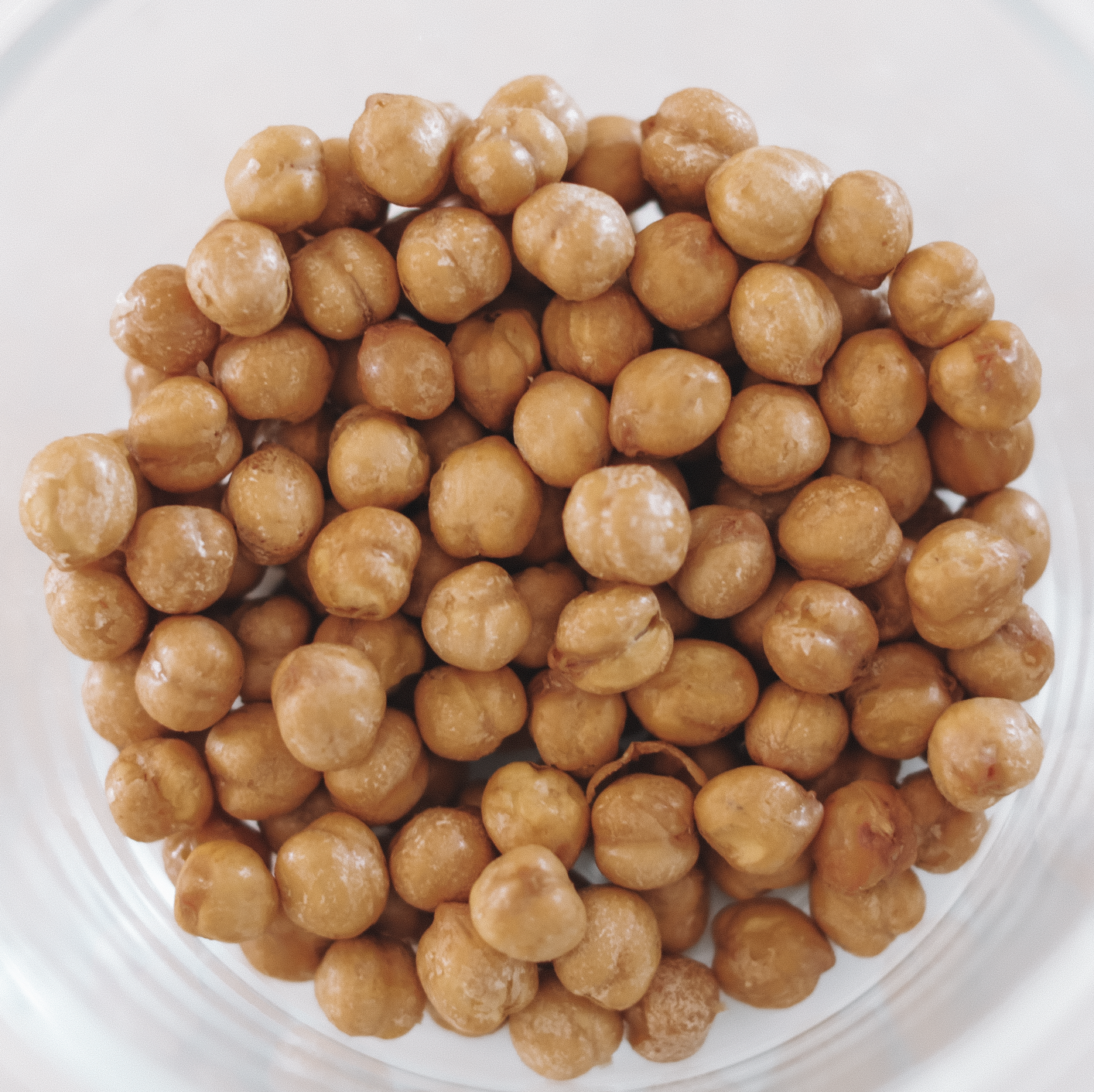 Baked Chickpeas - 226kcal12g P / 3g F / 27g C