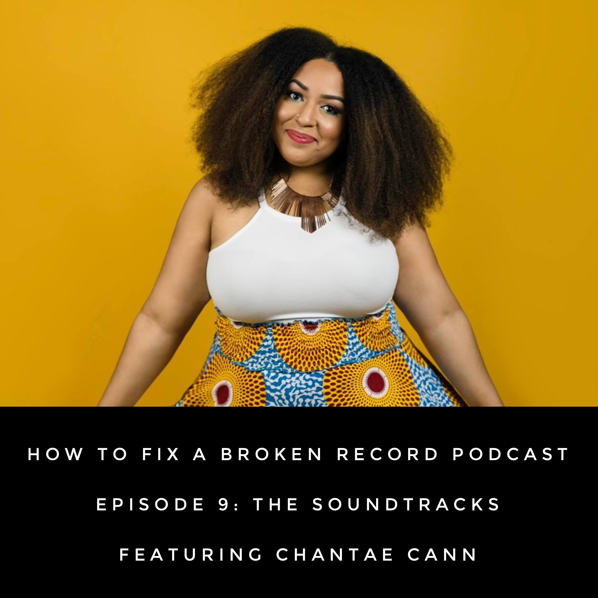 "Each Part of the book  How to Fix a Broken Record  has a feature called the Soundtrack where Amena writes about the albums that influenced her in the areas of Love and Be Yourself, Dating, Marriage, Lessons in Adulting, Ctrl+Alt+Surrender, Home and Searching for the Groove.  In this episode, Amena talks the soundtracks of the book with jazz soul vocalist and songwriter Chantae Cann. Listen in as Amena and Chantae discuss the albums that inspire them.      Show Notes:    Acoustic Soul  - India.Arie   I Am...Sasha Fierce  - Beyonce   A Love Supreme  - John Coltrane   The College Dropout  - Kanye West   Pages Of Life- Chapters I & II  - Fred Hammond   The Wiz soundtrack    A Seat At The Table  - Solange   Sol Empowered  - Chantae Cann   Innervisions  - Stevie Wonder      About Chantae:   Chantae Cann is the charismatic influence with a voice that transcends through time. With the release of her debut album  ""Journey to Golden""  in March 2016 at #1 on the iTunes Jazz Charts and #7 on the Jazz Billboard Charts, Chantae's solo career has started off on a promising note.  Chantae Cann's second studio album    Sol Empowered    released October 13, 2017 and landed a #8 spot on the Jazz Billboard Charts.   Sol Empowered   finds the artist in a positive space, as Ms. Cann states she has most recently been inspired in the areas of knowing, valuing and appreciating her own self-worth, and she desires to motivate others to do the same.  Lyrically, this is a love letter from Chantae to her listeners with an in depth look at her evolution as an artist, and most importantly who she has come to be as a person.   Sol Empowered   is intentional and deliberate, yet free-spirited.    For more info on Chantae Cann, visit  www.chantaecann.com .  Released December 19, 2017.  Listen to the episode on  iTunes  and  Google Play ."