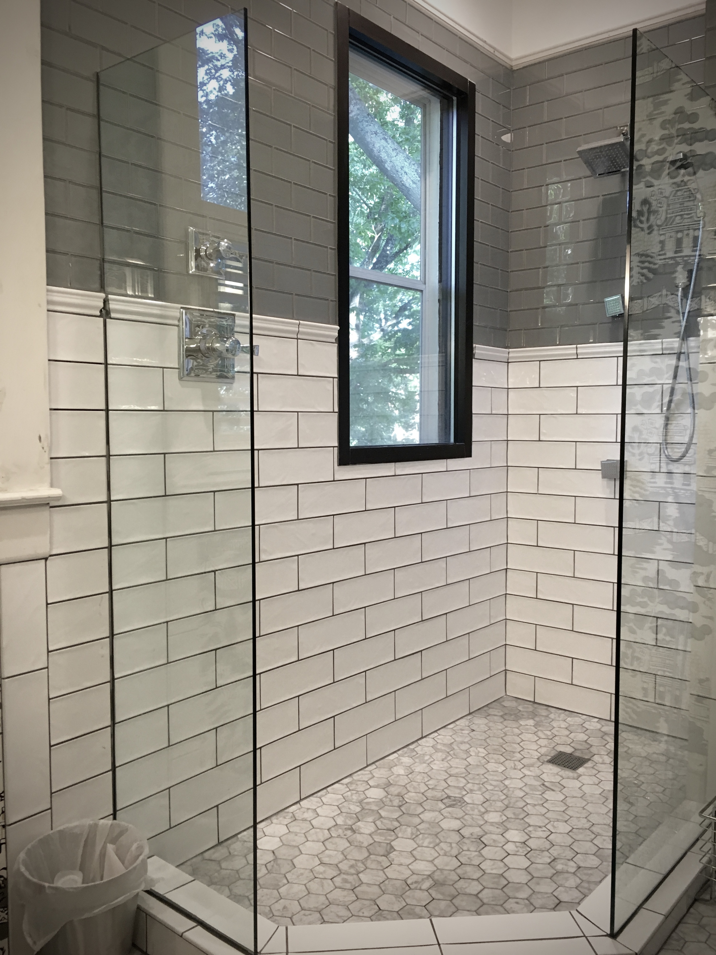 The shower is finally complete!