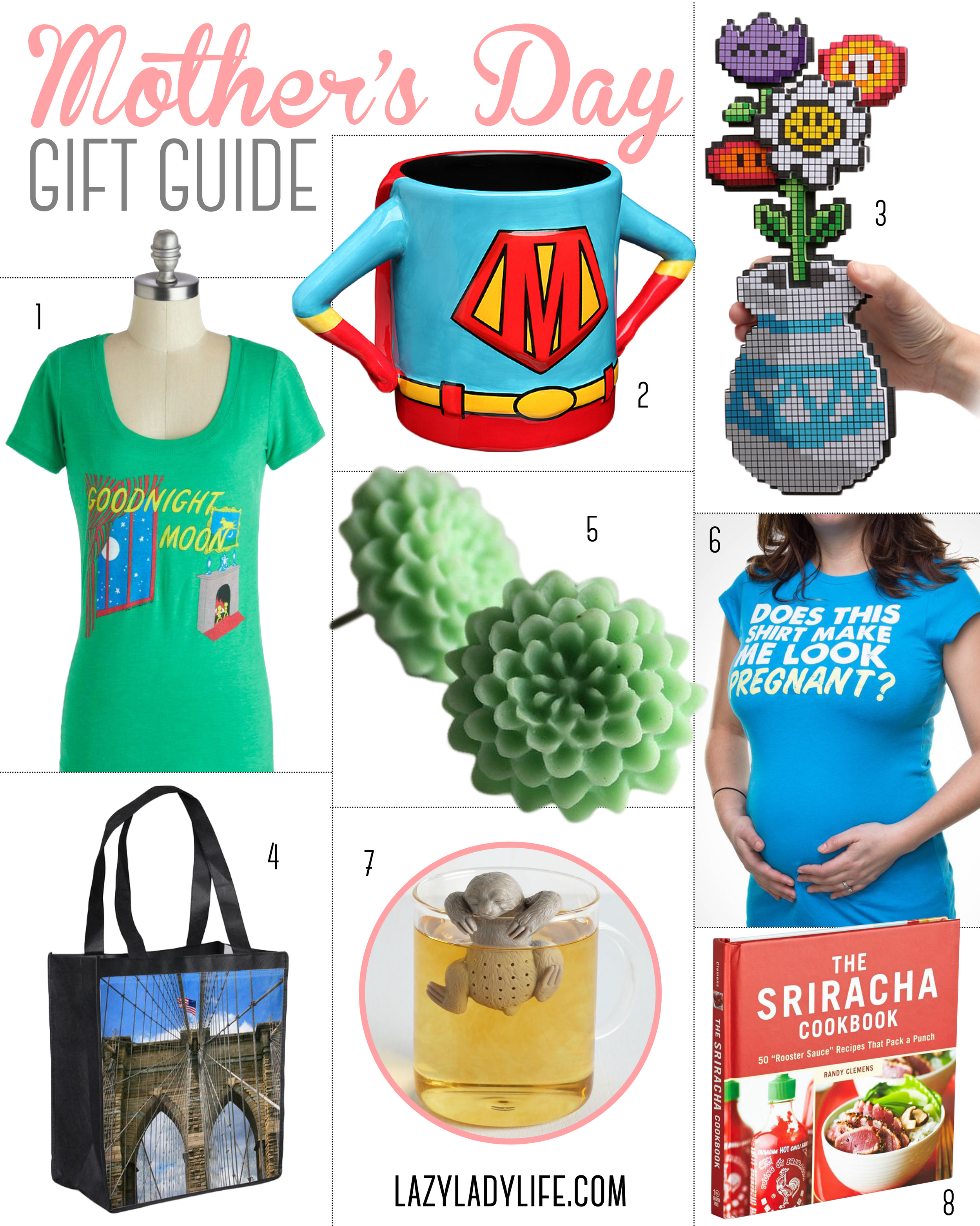 Mother's Day Gifts // Lazy Lady