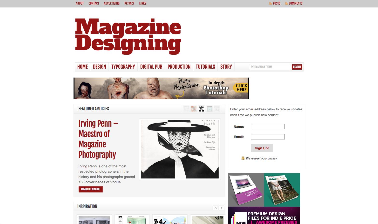 MagazineDesigning