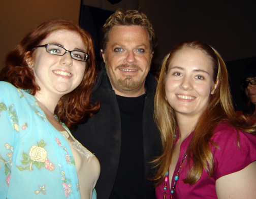THROWBACK! This was many years ago when my bestie, Annie, and I got to meet Eddie Izzard.