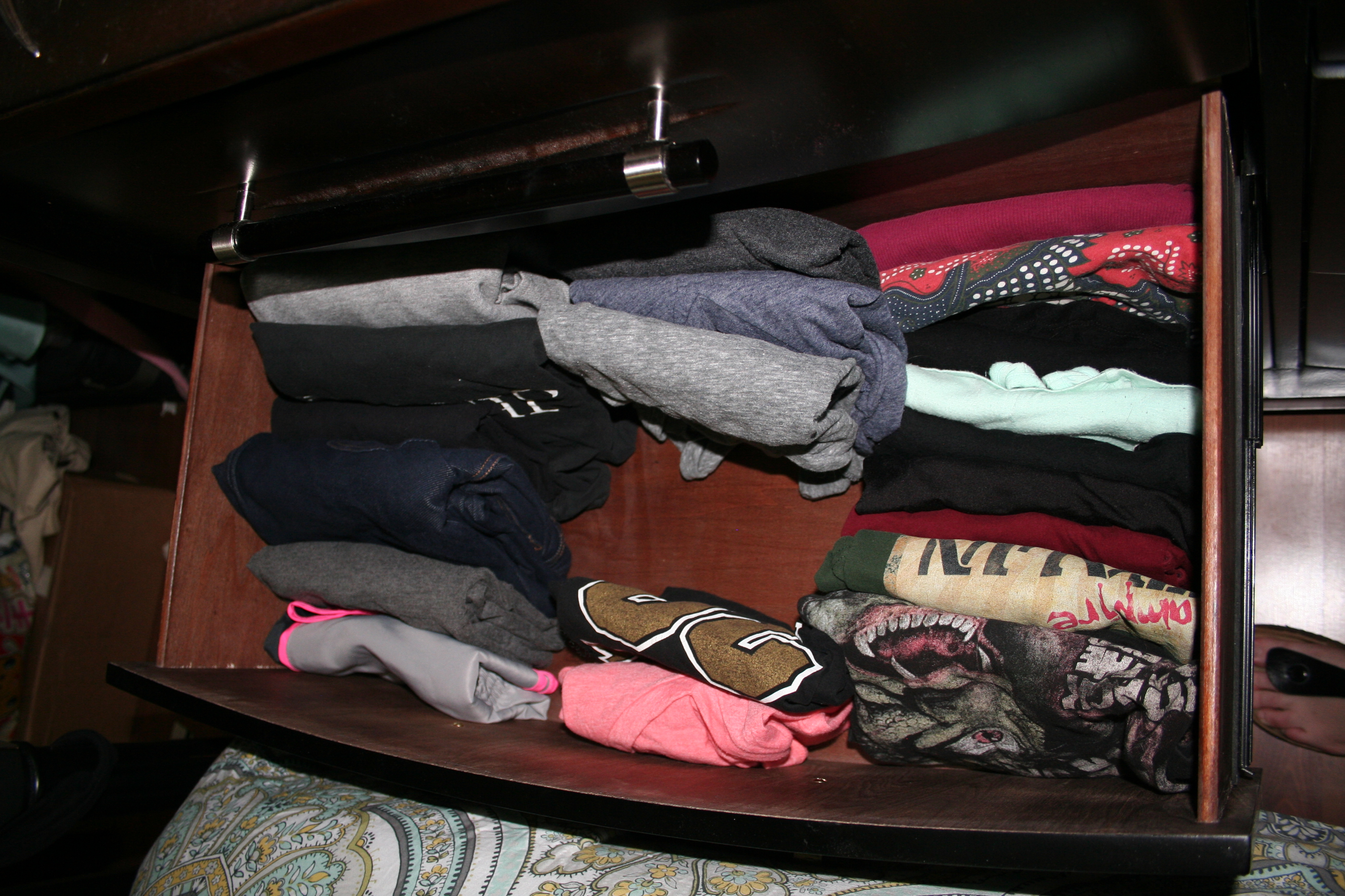 My t-shirt drawer