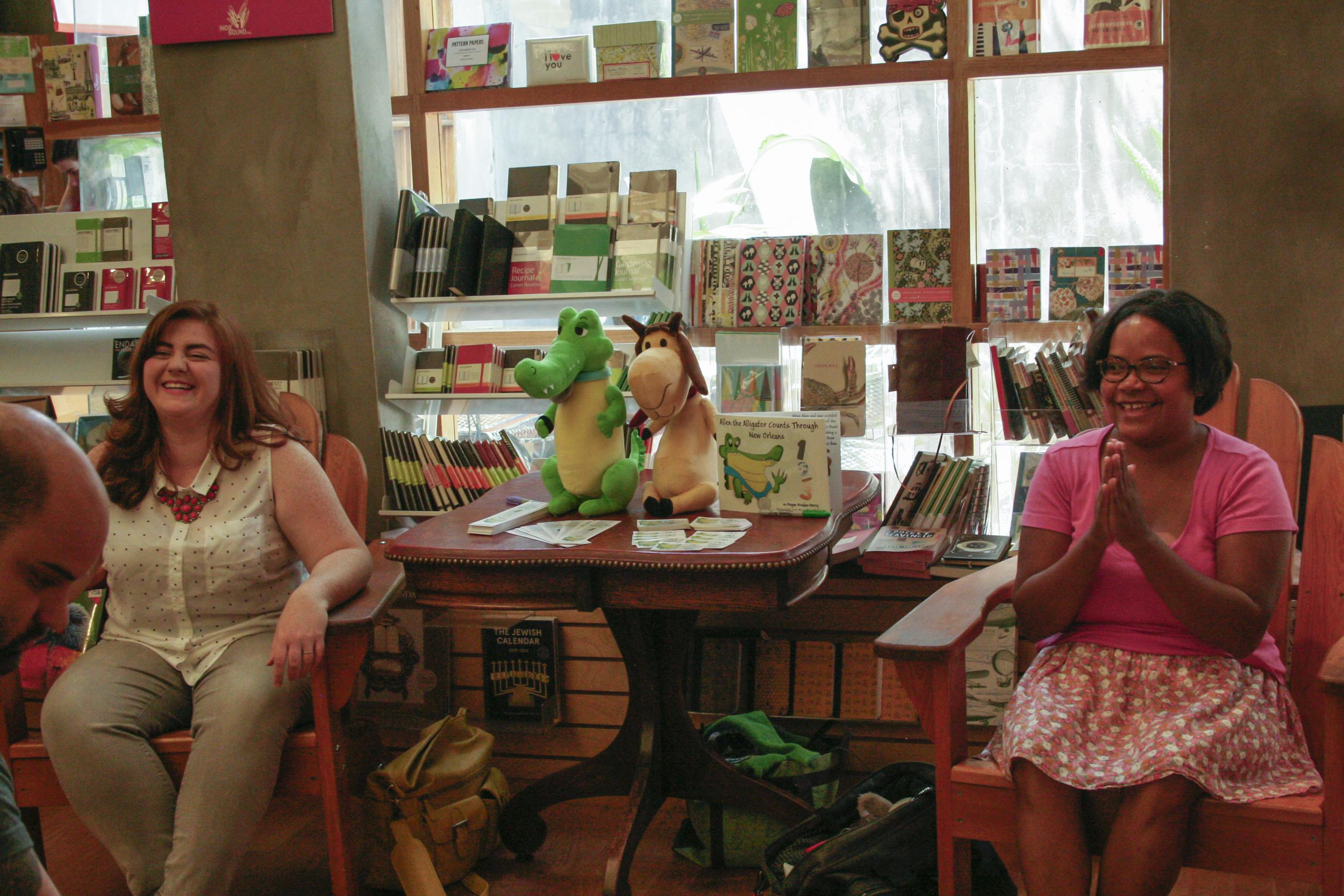 LazyLady-Octavia-Books-Allen-The-Alligator-Signing