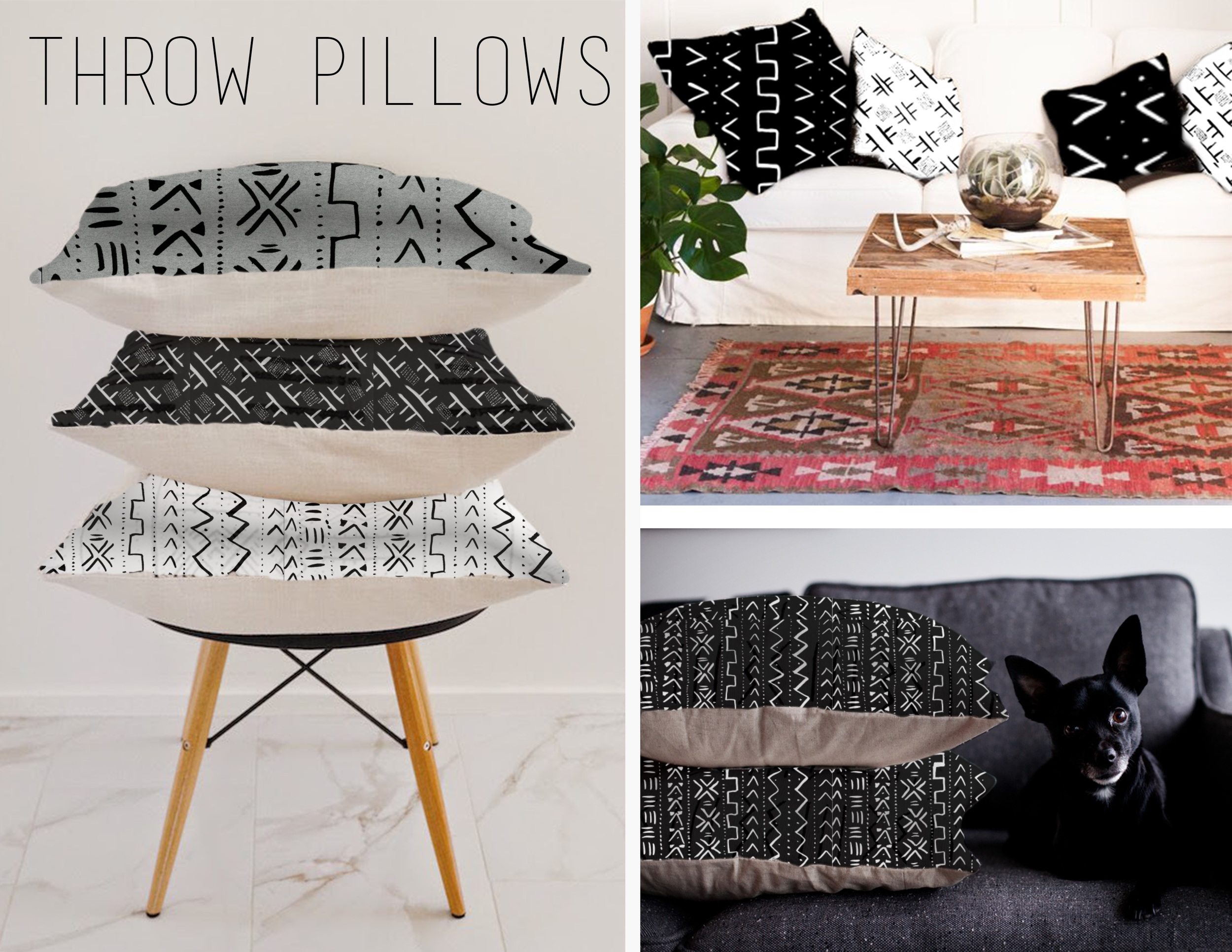 Mudcloth Filled Pillows Page .jpeg