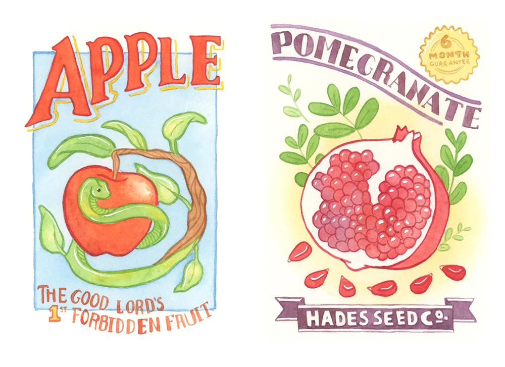 Forbidden Fruit Seed Packets