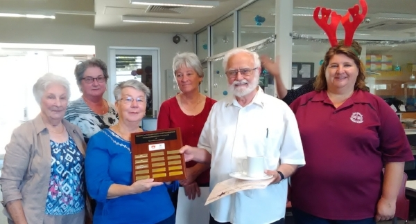 2016 Volunteering Award recipients, Adelaide Plains Inter-Church Council members with PCW Tania Cattell